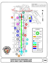 Map Downtown Los Angeles by May Day Street Closures In Downtown Los Angeles The La Beat