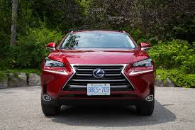 red lexus 2015 review 2015 lexus nx 300h canadian auto review