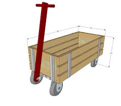 Free Woodworking Plans Childrens Furniture by Ana White Build A Beautiful Wood Wagon For Children Industrial