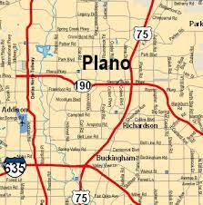 map plano plano map my