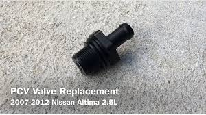 nissan altima 2015 recommended oil how to prevent engine valve cover gasket oil leak pcv valve