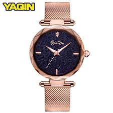 mesh bracelet watches images Yaqin luxury brand fashion women watch ladies steel mesh strap jpg