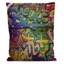 sittingpoint graffiti big bean bag chair wayfair