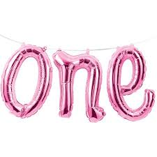 1st birthday girl 1st birthday girl one balloon banner each walmart