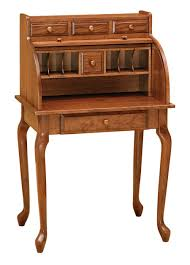 Furniture Secretary Desk Cabinet by Queen Anne Secretary Roll Top Rw1019 For 1 175 00 In Office