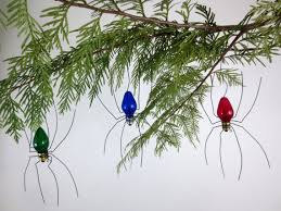 small lucky spider tree ornaments set of 3