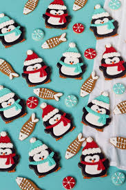 68 best penguin cookies images on pinterest decorated cookies