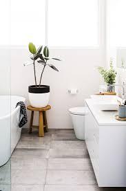 Modern Bathroom Decorating Ideas Modern Bathroom Decorations With Green Plants