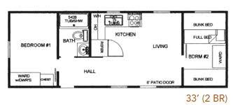 Park Model Home Floor Plans by Hyline Custom Park Model Cabins