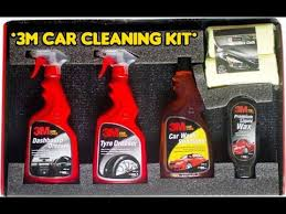 3m Foaming Car Interior Cleaner 3m Car Care Cleaning Small Kit Unboxing Youtube