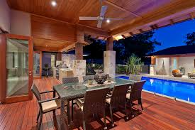 backyard designs with pool and outdoor kitchen room design plan