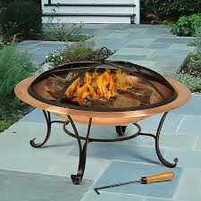 Wood Firepit Pit Awesome Wood Burning Outdoor Pit Design Propane