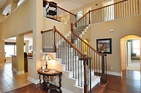 Wooden Banister Traditional Staircase With Carpet U0026 Balcony In Frisco Tx Zillow