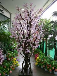 cool idea artificial trees for home decor cherry blossom tree
