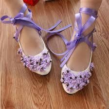Wedding Shoes Size 9 Full Sizes Women Bridal Purple Wedding Shoes Girls Purple