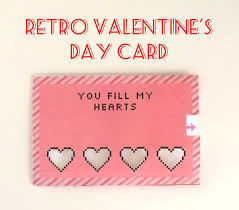 cool valentines cards retro s day card 4 steps with pictures