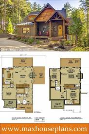 lakefront home plans narrow lot design house with side garage cool