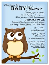 owl baby shower invitations baby shower decoration ideas