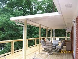 partially covered deck home u0026 gardens geek