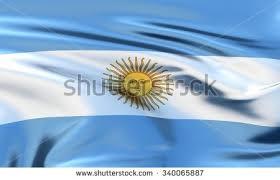 argentina flag 3d waving flag design stock illustration 631603973