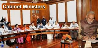 The Cabinet In Government Cabinet Ministers Of India 2017 Latest