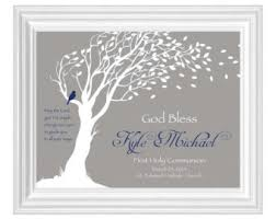communion gift ideas communion gift 8x10 print personalized girl s holy