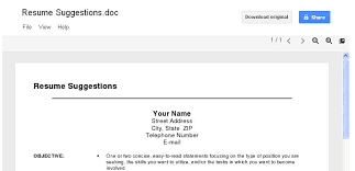 resume template docs docs resume template 19 get the addon nardellidesign