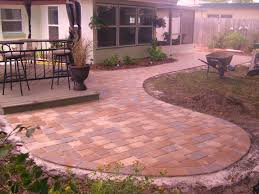 Backyard Pavers Diy Cheap Backyard Paver Ideas Home Outdoor Decoration
