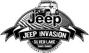 jeep logo black silver lake sand dunes jeep invasion