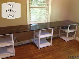 Diy Desks Innovative Diy Desk Ideas With Diy 12 Foot Desk Family