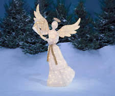 Lighted Angel Outdoor Christmas Decorations by Lighted Christmas Angel Ebay