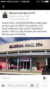blossom nails spa llc home facebook