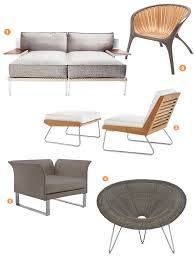 Contemporary Patio Chairs Outdoor Furniture Roundup Modern Muse Connecticut Cottages