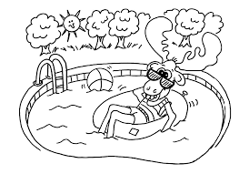 summer safety worksheets coloring pages coloring pages