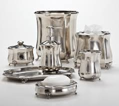 Silver Bathroom Accessories Sets by 34 Best Sensational Silver Bath Accessories Images On Pinterest