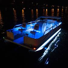 pontoon lighting boat light kit 24 flex track led for pontoon