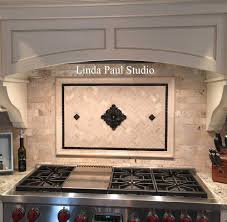 kitchen backsplash ideas pictures and installations flower backsplash accent with herringbone tile pattern custom kitchen