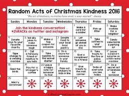 random acts of kindness advent calendar coffee cups