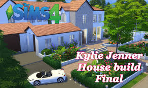 the sims 4 kylie jenner house build cc house tour final