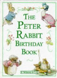 rabbit birthday the rabbit birthday book beatrix potter 9780723235231