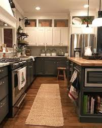 Above Kitchen Cabinets by Kitchen Before And After Utilizing The Space Above Cabinets And