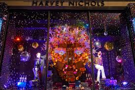 harrods and harvey nichols unveil their christmas 2015 window