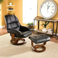 recliner furniture compact modern leather recliner and ottoman 33