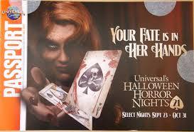 halloween horror nights 2016 passholder universal u0027s fall 2011 passholder mailer arrives secrets revealed