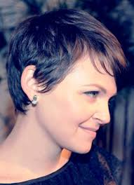 pixie haircut for thick curly hair ginnifer goodwin rear view of pixie cut back to post ginnifer