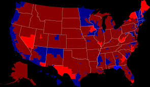 Republican States Map by 2014 United States House Of Representatives Election Map