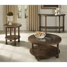 Clock Coffee Table by Round Coffee Table Sets You U0027ll Love Wayfair