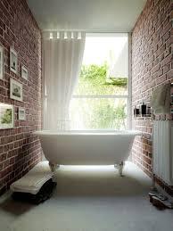 Stylish Bathroom Ideas 39 Stylish Bathrooms With Brick Walls And Ceilings Digsdigs