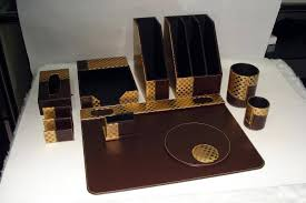 Awesome Desk Accessories by Desk Organizer Set Home Decor U0026 Furniture