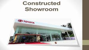 showroom toyota lanson toyota car showroom constructed using precast technology